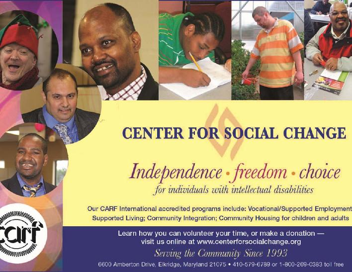 Center for Social Change Sponsorship Ad